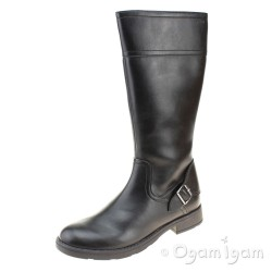 Geox Sofia Girls Tall Black Boot