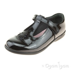 Start-rite Poppy Girls Black Patent School Shoe