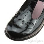 Start-rite Poppy Girls Black Patent School Shoe