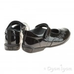 Start-rite Pump Girls Black Patent School Shoe