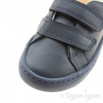 Clarks City Oasis Boys Navy Shoe