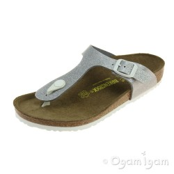 Birkenstock Gizeh Galaxy Girls Magic Galaxy Silver Sandal
