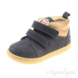 Shoo Pom Bouba Scratch Wool Infant Boys Navy-Nuts Boot