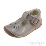 Clarks Little Weave Infant Girls Pink Shoe