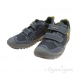 Geox Artach Boy Boys Navy-Yellow Trainer