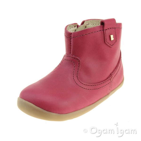 Bobux Vale Girls Dark Pink Boot