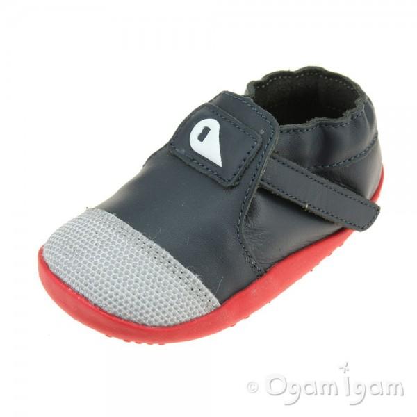 Bobux Xplorer Origin Infant Boys Navy-Red Shoe