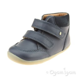 Bobux Timber Infant Boys Navy Boot