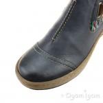 Rieker Z678414 Womens Blue Boot