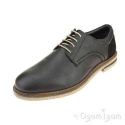 Josef Seibel Stanley 04 Mens Black Shoe