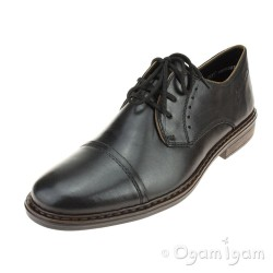 Rieker 1761700 Mens Black Shoe