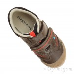 Start-rite Tough Bug Fst Boys Brown Shoe