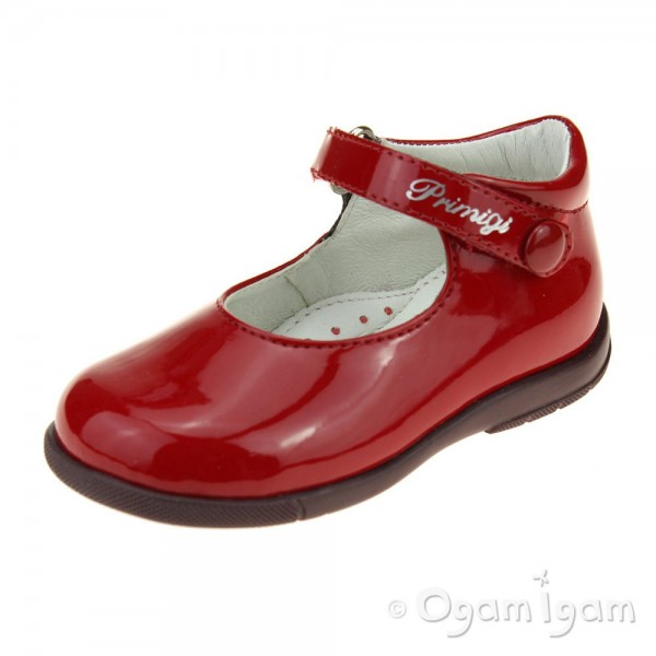 Primigi PPB 24020 Girls Red Patent Shoe