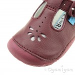 Start-rite Baby Bubble Girls Wine Shoe