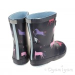 Joules Magical Unicorn Welly Girls Wellington Boot
