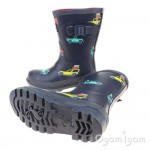 Joules Scout And About Boys Navy Welly