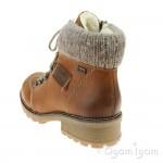 Rieker Z044424 Womens Tan Waterproof Boot