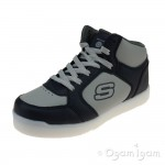 Skechers Energy Lights E-Pro Boys Navy-Grey Trainer
