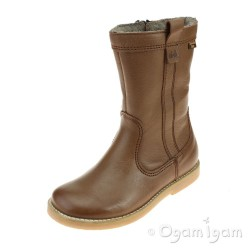 Froddo G1360083 Girls Brown Boot