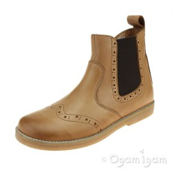 Froddo G3160080 Girls Boys Cognac Chelsea Boot