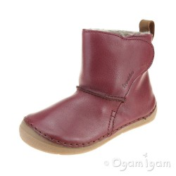 Froddo G2160040 Infant Girls Bordeaux Boot