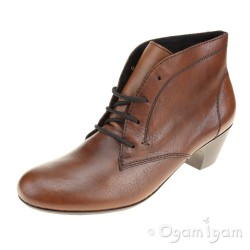 Rieker 7051022 Womens Brown Ankle Boot