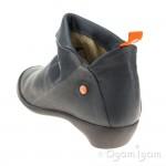 Softinos Farah Navy Womens Navy Boot
