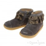 Shoo Pom Bouba Frou-Frou Infant Girls Grey-Bronze Boot