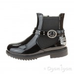 Lelli Kelly Anna Girls Black Patent Boot