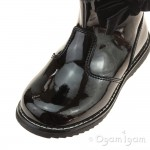 Lelli Kelly Ines Girls Black Patent Boot