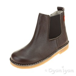 Petasil Kaz Boys Dark Brown Boot