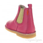 Petasil Kaz Fuchsia Girls Chelsea Boot
