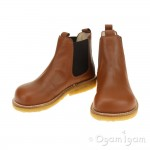 Angulus Chelsea Boys Girls Cognac Boot