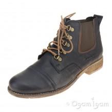 Josef Seibel Sienna 09 Womens Ocean-Marone Ankle Boot