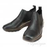 Rieker 5379400 Womens Black Ankle Boot