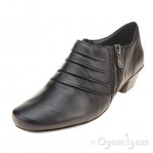 Rieker 5387101 Womens Black Shoe