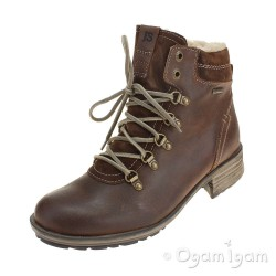 Josef Seibel Sandra 66 Womens Waterproof Castagne Brown Boot