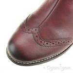 Rieker Y336135 Womens Wine Ankle Boot