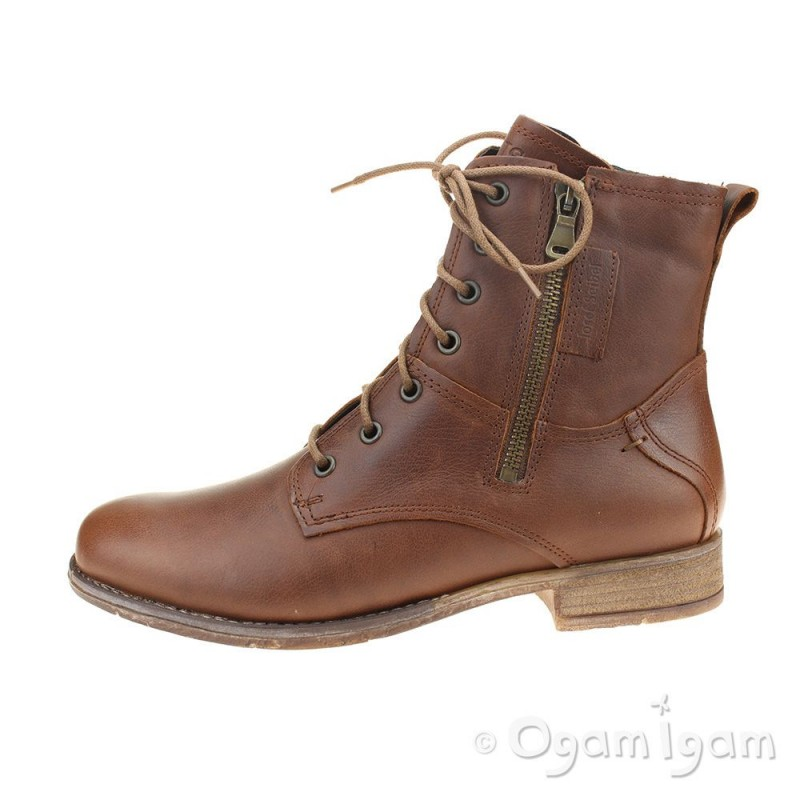 e9ea58135bf91 Josef Seibel Sienna 69 Womens Cognac Brown Ankle Boot | Ogam Igam