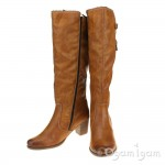 Rieker Y898024 Womens Tall Tan Boot
