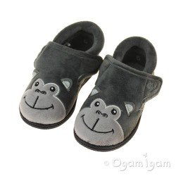 Chipmunks Bubbles Boys Dark grey Slipper