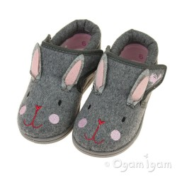 Chipmunks Katie Girls Grey Slipper