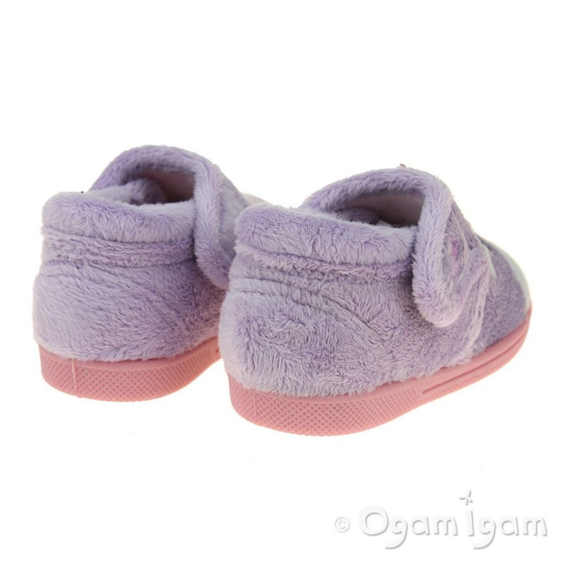 32fe6f2e Chipmunks Unicorn Girls Lavendar Slipper | Ogam Igam