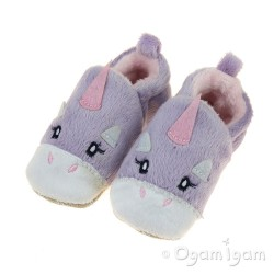 Chipmunks Rainbow Girls Lavendar Slipper