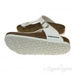 Birkenstock Gizeh Womens White Sandal