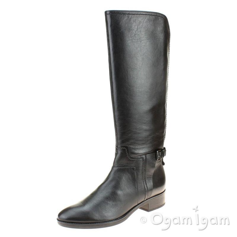 76d979b35f9 Geox Felicity Womens Tall Black Boot   Ogam Igam