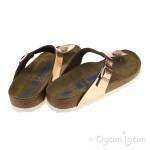 Birkenstock Gizeh Womens Metallic Copper Sandal