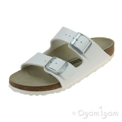 Birkenstock Arizona White Womens White Sandal