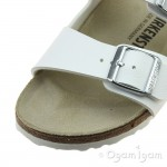 Birkenstock Arizona White Womens White Sandal