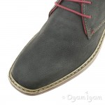 Rieker F121045 Mens Coal Grey Boot